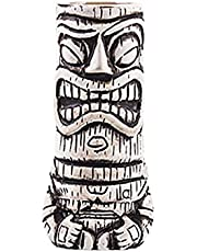 THATA Tiki Bekers, Tiki Mok van keramiek, cocktailbeker, innovatieve Hawaiiaanse Tiki-beker, cocktailglazen - Tiki Bar accessoires - partydecoratie handsome