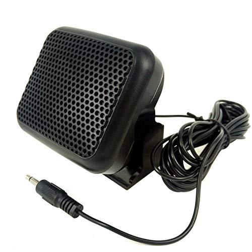 of kenwood ham radios Mini External Speaker NSP - for Yaesu for Kenwood for ICOM for Motorola Ham Radio CB Hf Transceiver External Speaker Rodalind
