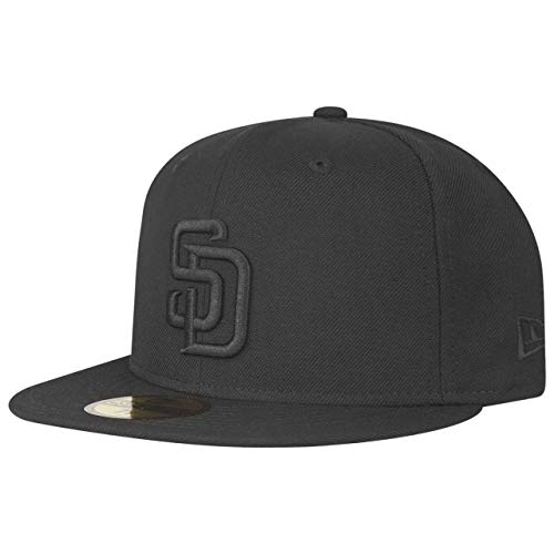 New Era 59Fifty Cap - MLB Black San Diego Padres