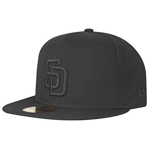 New Era 59Fifty Cap - MLB Black San Diego Padres