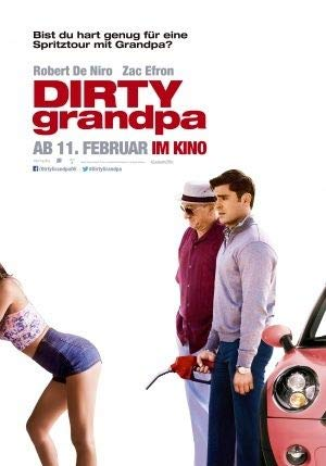 Dirty Grandpa - Robert De Niro – German Imported Movie Wall Poster Print - 30CM X 43CM Zac Efron
