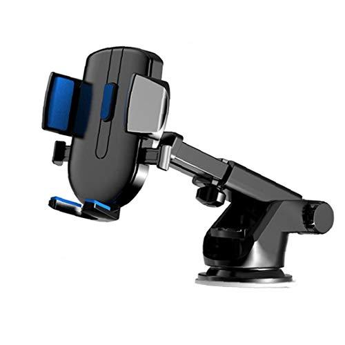 Titular del teléfono del coche del tablero de instrumentos del sostenedor del soporte del GPS del teléfono montaje del coche del teléfono celular de la tableta Soporte para todos los teléfonos azules