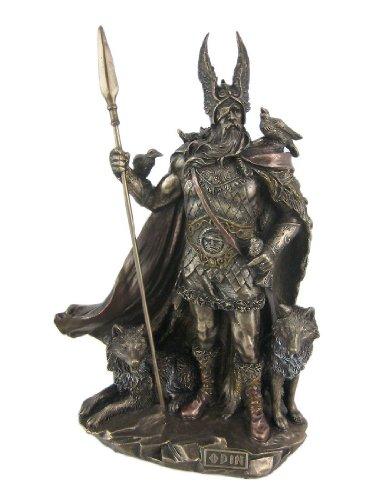 9.75 Inch Odin Norse God Statue Mythology Figurine Figure Deity Viking Decor