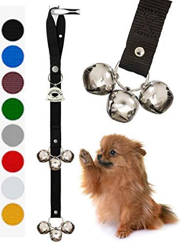 Caldwells Pet Supply Co. Potty Bells hushållande hund dörrklockor för hundträning och husbryta din hund. Hundklocka med doggie dörrklocka och potträning för valpar instruktioner