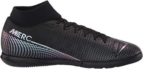 Nike Herren Superfly 7 Academy IC Fußballschuhe, Schwarz (Black/Black 010), 43 EU