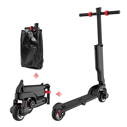 Decoratecastle Scooter electrico-Patinete electrico Adulto y niño, Patinete Eléctrico Plegable Adultos 25 km/h 250W Motor Scooter Eléctrico
