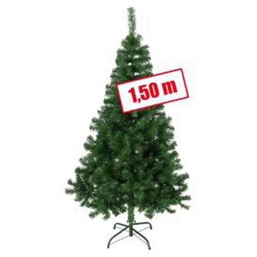 Christbaum in Grün Weihnachtsbaum Tannenbaum Höhe 150 cm