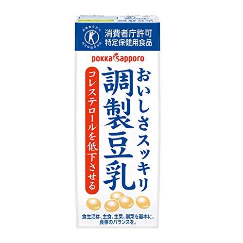 ポッカサッポロ『ソヤファーム おいしさスッキリ 調製豆乳』