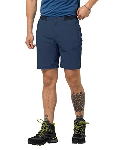 Jack Wolfskin Trail Shorts Men Shorts Homme Dark Indigo FR: M (Taille Fabricant: 46)