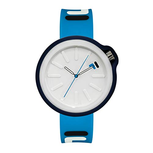 OROLOGIO Watches for Women - Womens Watches - Mens Watches - Analog Watch - Wrist Watch - Sports Watch Men - Cool Watches for Men - Unisex Watch with Extra Silicone Cover - Light Blue Fila Watch