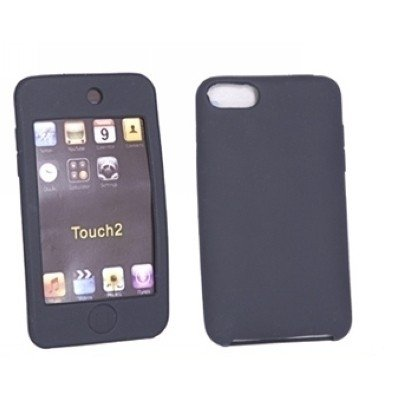 Logotrans - Funda de silicona para iPod touch 2, color negro