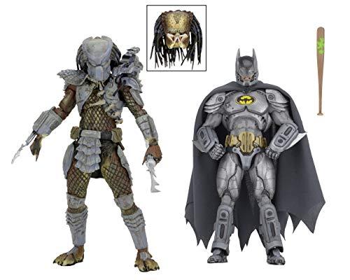 NECA 2019 SDCC Exclusive Batman Vs Predator 2-Pack Figure