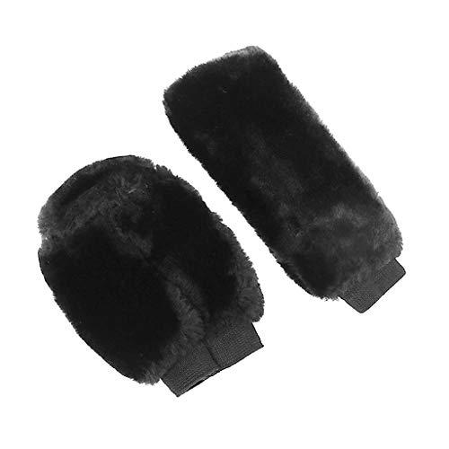 Shiwaki Abdeckung Bezug für Auto Schaltknauf Handbremse + Getriebeabdeckung