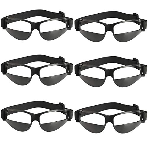 TEKCAM - Gafas de Baloncesto para Entrenamiento de Baloncesto (no Incluye Gafas de Cristal)