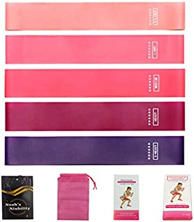 Noah's Niubility Resistance Loop Bands - Set of 5 Resistance Exercise Bands for Home Fitness, Stretching,Yoga,Physical The...