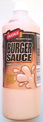 Cruciales de Burger salsa de 3 x 1 litro