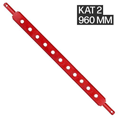 Ackerschiene | Kat 2 | 960 mm lang | 11 Löcher | Anhängeschiene | Trecker | Traktor | Schlepper | Arbeitsgeräte | Stahl | Agrar | Agrartechnik
