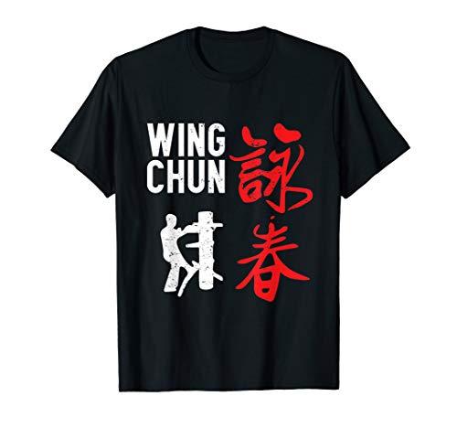 Wing Chun Kung Fu Für Fans Von MMA Kampfsport T-Shirt
