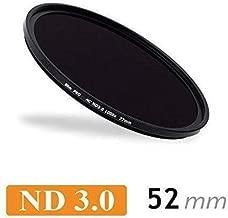 CameraPlus -Professional 52mm Slim S-PRO1 Neutral Density 3 0 Filter Stops free aluminium filter screw-in caps