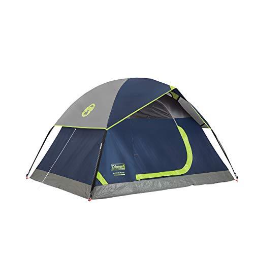 Coleman 2-Person Sundome Tent, Navy (Renewed)
