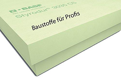 1 Pack original BASF Styrodur 3000CS 30mm 10,50m² XPS WLG034