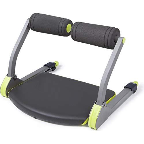 NordFalk Aparato de fitness 6 en 1: entrenamiento cardiovascular, abdominales, abdominales, abdominales, abdominales, abdominales, biceps, ciclismo y flexiones.