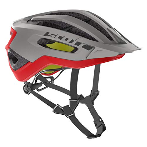 SCOTT stell gry/rd M, Casco Fuga PLUS rev M Unisex adulto, M