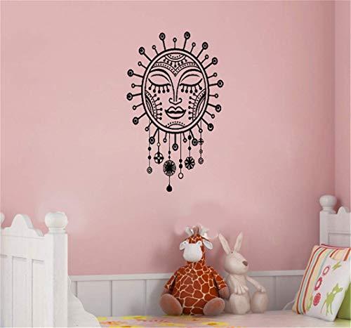 wandaufkleber 3d Sonnenamulett-Schlafzimmer-Dekorations-Raum-Kunst