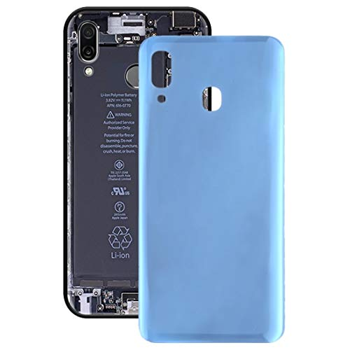 Mobile Phone Replacement Parts Battery Back Cover for Galaxy A30 SM-A305F/DS, A305FN/DS, A305G/DS, A305GN/DS(Black) (Color : Blue)