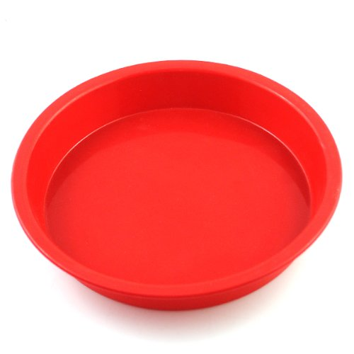 2win2buy 7.31 inch Silicone Round Cake Baking Mold Pastry Brownie Pizza Pie Dessert Pan