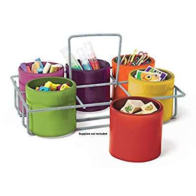 Essential Learning Products 626687 6-Cup Caddy by Essential Learning Products Company - Education