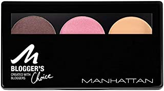 Manhattan Cosmetics Blogger's Choice Trio Eyeshadow, 3 Downtown to Earth