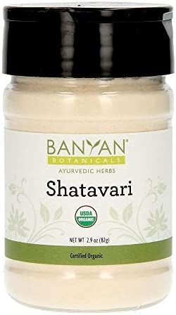 Banyan Botanicals Organic Shatavari Powder Asparagus racemosus Ayurvedic Herb for Vata Pitta product image