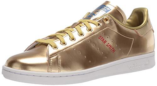 adidas Originals Stan Smith, Zapatillas Hombre, Gold Metallic Gold Metallic Kristall Weiß, 38 EU
