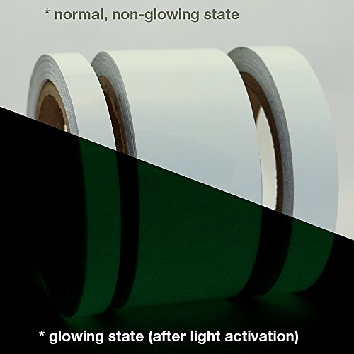 J.V. Converting GLW/LLGRN510 JVCC GLW - Nastro fluorescente, 12,7 x 9,1 m, colore: verde lime