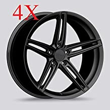 Drag DR-73 Wheels 20x8.5 5x114.3 Matte Black Rims