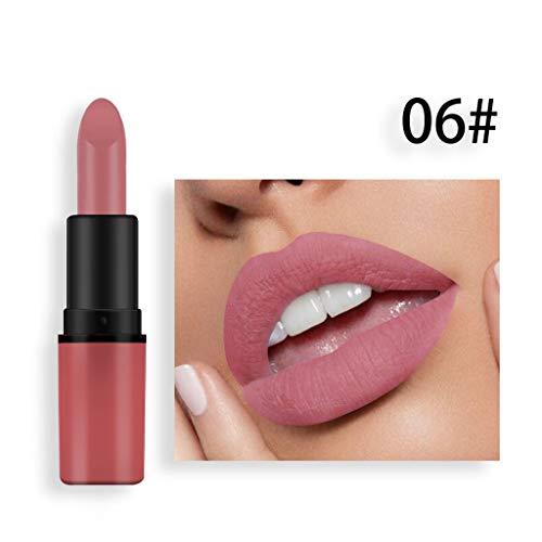 BOLANQ Cosmetics Matte Und KüRbis Farbe Bohnenpaste Lip Solid Gloss Lipstick Long Last