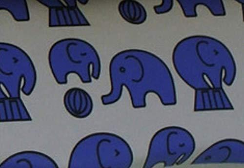 Bright Color Farm Animals - Sturdy Clam Shell eyeglass case (Grey-Elephant)