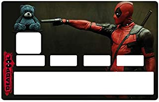 DECO-IDEES Credit Card Sticker - Bank Card, Deadpool - Personalize Your Credit Card with These Removable Stickers