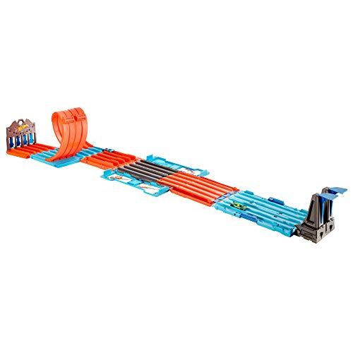 Hot Wheels-FTH77 Caja de Carreras Pista de Coches Juguete, multicolor (Mattel FTH77) , color/modelo surtido