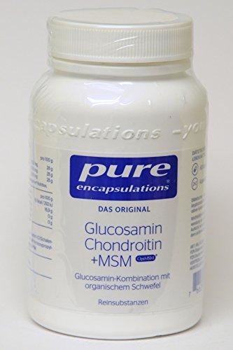 Pure Encapsulations Glucosamin Chondroitin + MSM 60 Kapseln