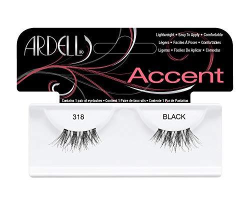 Preisvergleich Produktbild Ardell Accent Style Eye Lashes Nummer 318,  Schwarz