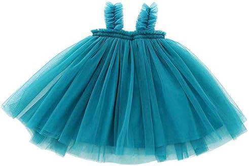 GSVIBK Baby Girls Tutu Dress Toddler Infant Tulle Skirts Sleeveless Sundress Mini Dress Bubble product image