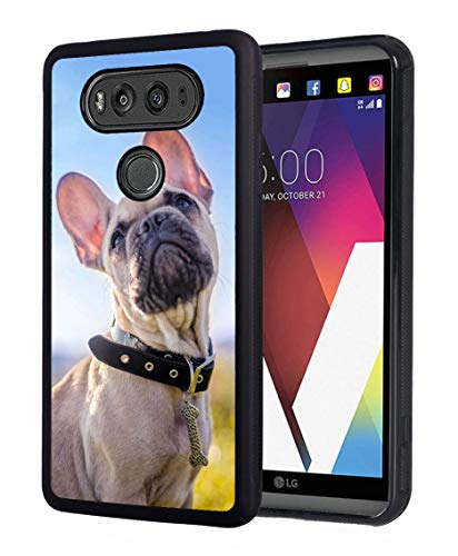 Case for LG G6, BWOOLL Slim Anti-Scratch Rubber Protective Case Cover for LG G6 - French Bulldog