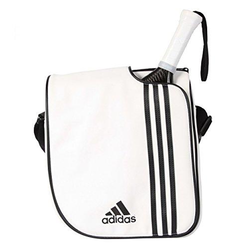 adidas 2014 Spain - Bolsa Bandolera Unisex, Color Blanco/Negro, Talla única