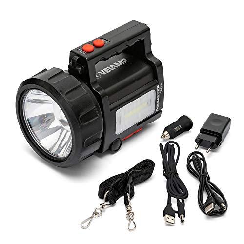 Velamp Doomster TREKK Linterna LED 735 lúmenes (10W), lámpara Recargable. Powerbank. Resistente...