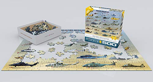 EuroGraphics Military Helicopters Puzzle, 500-Piece