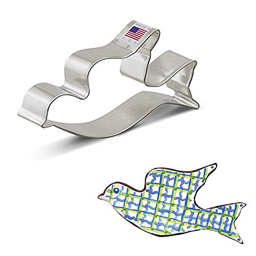 Ann Clark Cookie Cutters Flying Dove Cookie Cutter, 4.5'