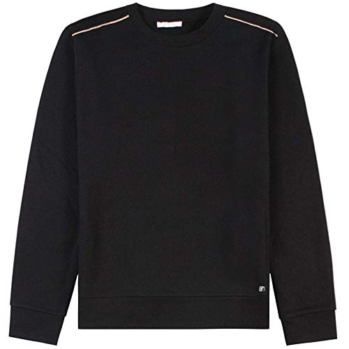 Versace Collection Logo Trim Sweatshirt Black Meduim