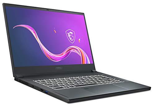 MSI Creator 15 A10SFT-093 (39,6 cm/15,6 Zoll/Full-HD/100% sRGB/Multi-Touch) Laptop (Intel Core i7-10875H, 16GB RAM, 1TB PCIe SSD, Nvidia GeForce RTX 2070 Super 8GB, Windows 10 Pro) Carbon-Grau